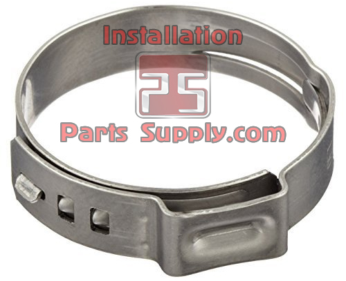 19.4-22.6 / .764-.890 1-Ear Stepless Oetiker Clamp Group 167 (16700026)