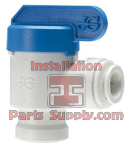 RO Ball Valve Kit, 1/4 JG for TKE-2000B