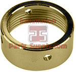 Beer Faucet Coupling Nut Polished Brass Standard Faucet