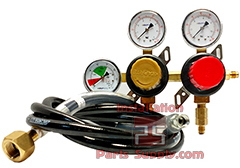 8000 Series Primary Soda Regulators