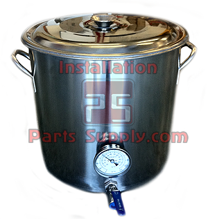 Brew Kettle Assembly - Installation Parts Supply