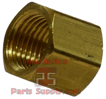 Cap Pipe Cap FPT — 108A - Installation Parts Supply