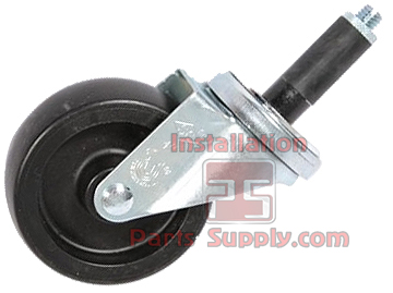 Casters for Bag in Box Racks - Installation Parts Supply