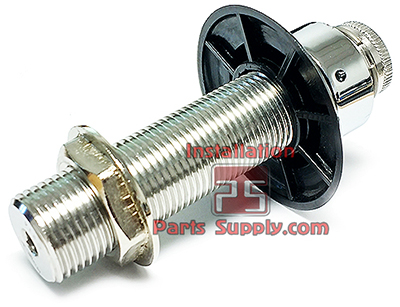Chrome Shanks - Installation Parts Supply