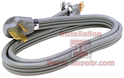 50A 3-Wire Range Cord - Installation Parts Supply