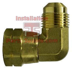 Elbow Swivel Flare x Female 90° - Installation Parts Supply