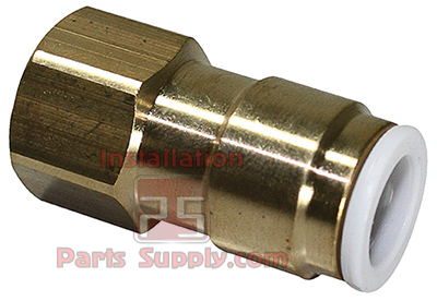 Female Flare x Tube Brass — Hydrofit - Installation Parts Supply