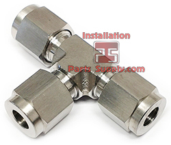 Stainless Compression Tees - Installation Parts Supply