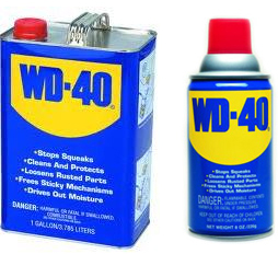 WD-40 — Water Displacing Recipe 40 Anti-rust