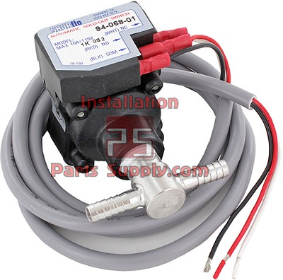 "Sold Out Switch Gas Pumps 3/8"" Barb w/ 78"" Wiring Cables LED Sold Out Light"