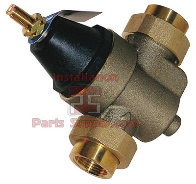 "1/2""x1/2"" FPT, 25-75psi/50psi pre-set, Watts Brass Regulator 