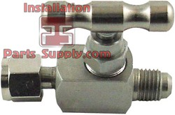 "3/8"" x 3/8"" Flare x Female Flare Needle Valve Stainless Steel"