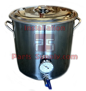 32q/8Gal SS Brew Kettle Entry-Level Kit