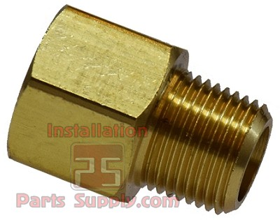 "3/8""x3/8"" FPT x MPT Pipe Adapter Brass"