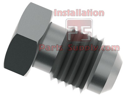 "3/8"" Flare Plug 303SS Stainless"