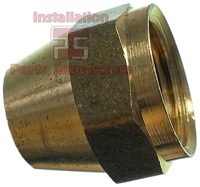 "1/2"" Flare Nut Extruded Brass"