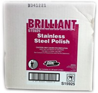 6-1 Quart/.9 Liter Spray Bottle of Stainless Steel Polish/Cleaner SSDC # S15925