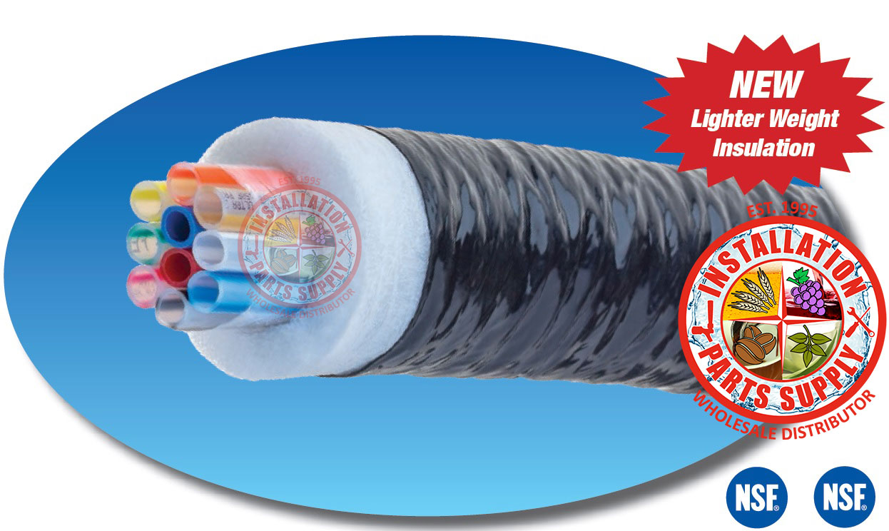 Bev-Seal Ultra Insulated Barrier Tubing Bundles - Series 971/973- Installation Parts Supply