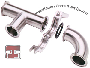 Sanitary Tri Clover Fittings