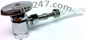Compression Tube Shank x Barb Adapter MBT-