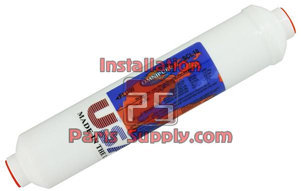 Omnipure K2586 Inline K-Series GAC with Phosphate Filter 4 Oz K2586-JJ