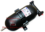 21oz. Accumulator Tank BIB Pump Liquid Inlet/Outlet Shurflo 181-400