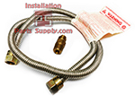 3/8(1/2FxM)x36 Gas Connector