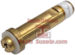 Europe & Asia (except Korea) Co2 Tank Nut, 30mm Hex, DIN 477 No.6 & BS 341 No.8, 21.8mm-14 Thread