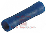 16-14 AWG Wire Terminal Butt Connectors-Blue