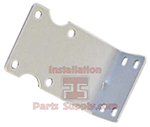 1-Stage, Filter Housing Bracket, white, Metal