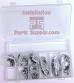 #80 Oetiker Kit Includes: Oetiker Box & 10 ea. of 8 sizes; No Pliers
