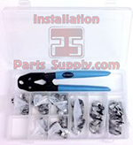 #98-10 Oetiker Kit Includes: Oetiker Box, Oetiker 14100386 Front Jaw Pliers, & 10 ea. of 8 sizes