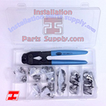 #98 Oetiker Kit Includes: Oetiker Box, Oetiker 14100386 Front Jaw Pliers, & 50 ea. of 6 sizes