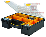 8 Compartment Parts Cases Plastic