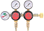 Primary Beer CO2 Regulator, 2P2P, High Performance, CGA320 Inlet, 5/16
