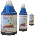 Beer Line Cleaner Concentrated Solution, 1 Gallon Blue Tinted for easy Rinse-Ability