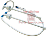 Aux Feed Tube, Dual Suction Wand for BW4000A Flojet Bottle Water Pump #22000007A