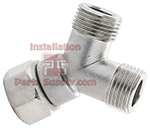 Keg Coupler Y Fittings, 5/8