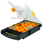 15 Compartment Parts Cases Plastic
