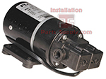 Electric Flojet Pump 230V 50PSI Corded w/o Plug