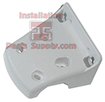 Omnipure Single Bracket for Q, E, & ELF Series Water Filter Heads - Plastic, White