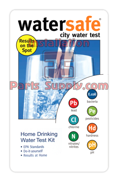 City Water Test Kits Watersafe