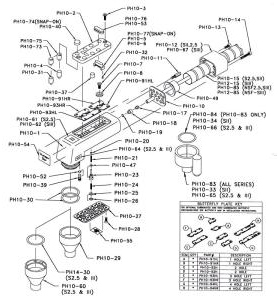 Handle Parts Wunderbar M4 List - Installation Parts Supply