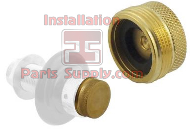 Shank Plug for Beer Faucets Brass