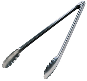 Tongs 16'' Stainless Steel