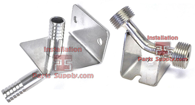 Wall Mount Beer Fittings Stainless