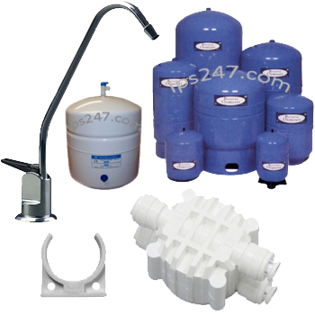 Accessories Tanks, Faucets, Drains, Clips