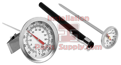 Analog Dial Thermometer 0-220°