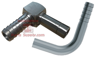 Barb x Compression (Tube Shank)  90° - Installation Parts Supply