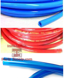 Bevlex Red PVC BEER Tubing for CO2 Air Supply Lines - 204 Series - Installation Parts Supply